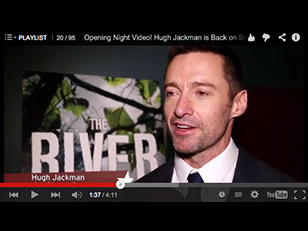 Interviewing Hugh Jackman